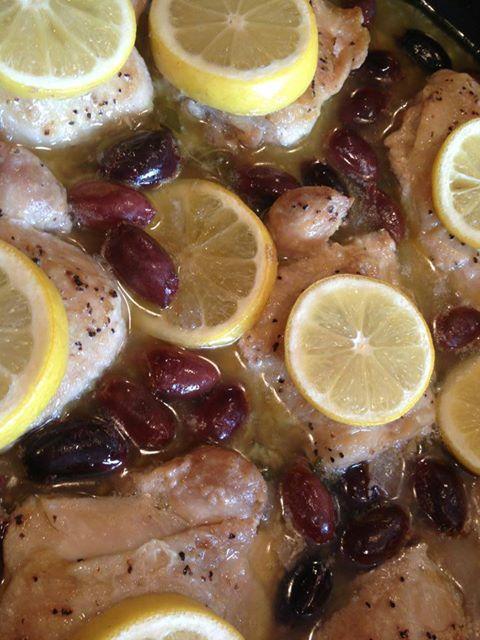 Olive, Garlic & Lemon Chicken
