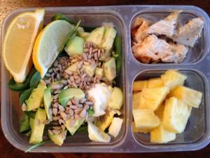 chicken avocado lunchable