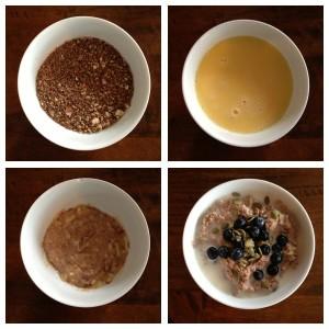 nut oatmeal