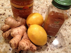 Honey Cinnamon Ginger Lemon