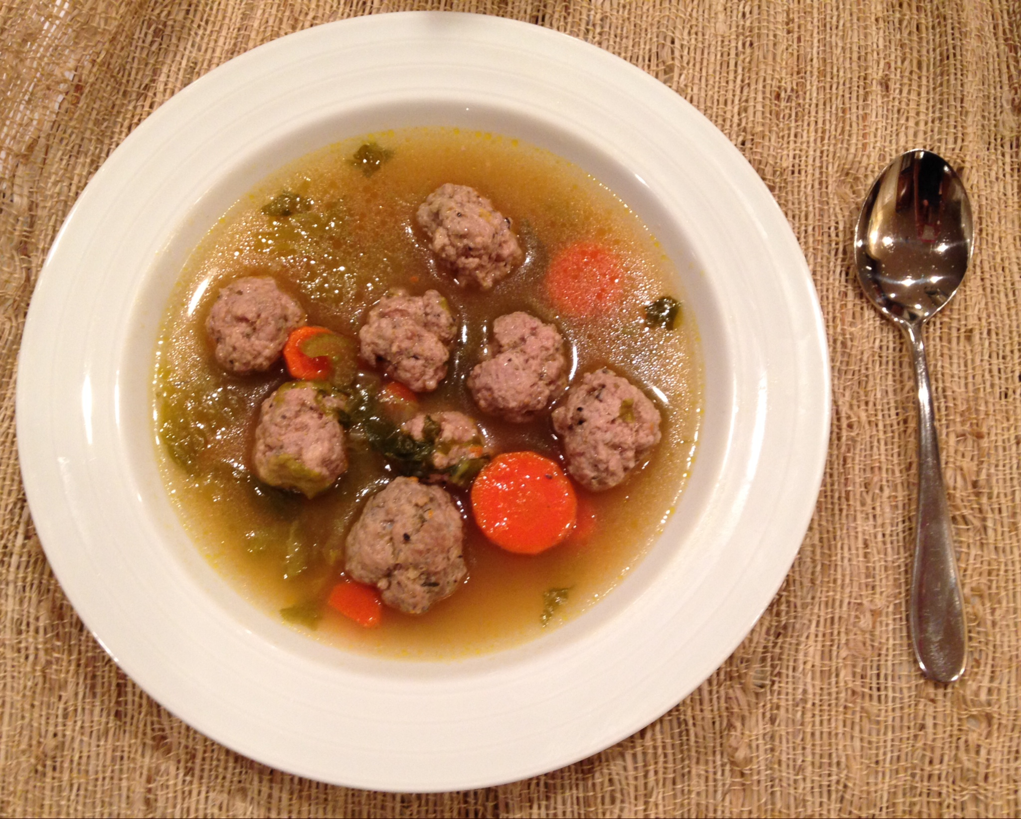 Real Italian Wedding Soup