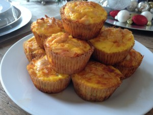 Buffalo Chicken Egg Muffins 1