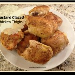 mustard glazed thighs final