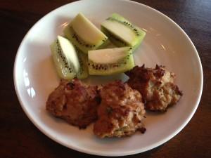 kiwi and meatball