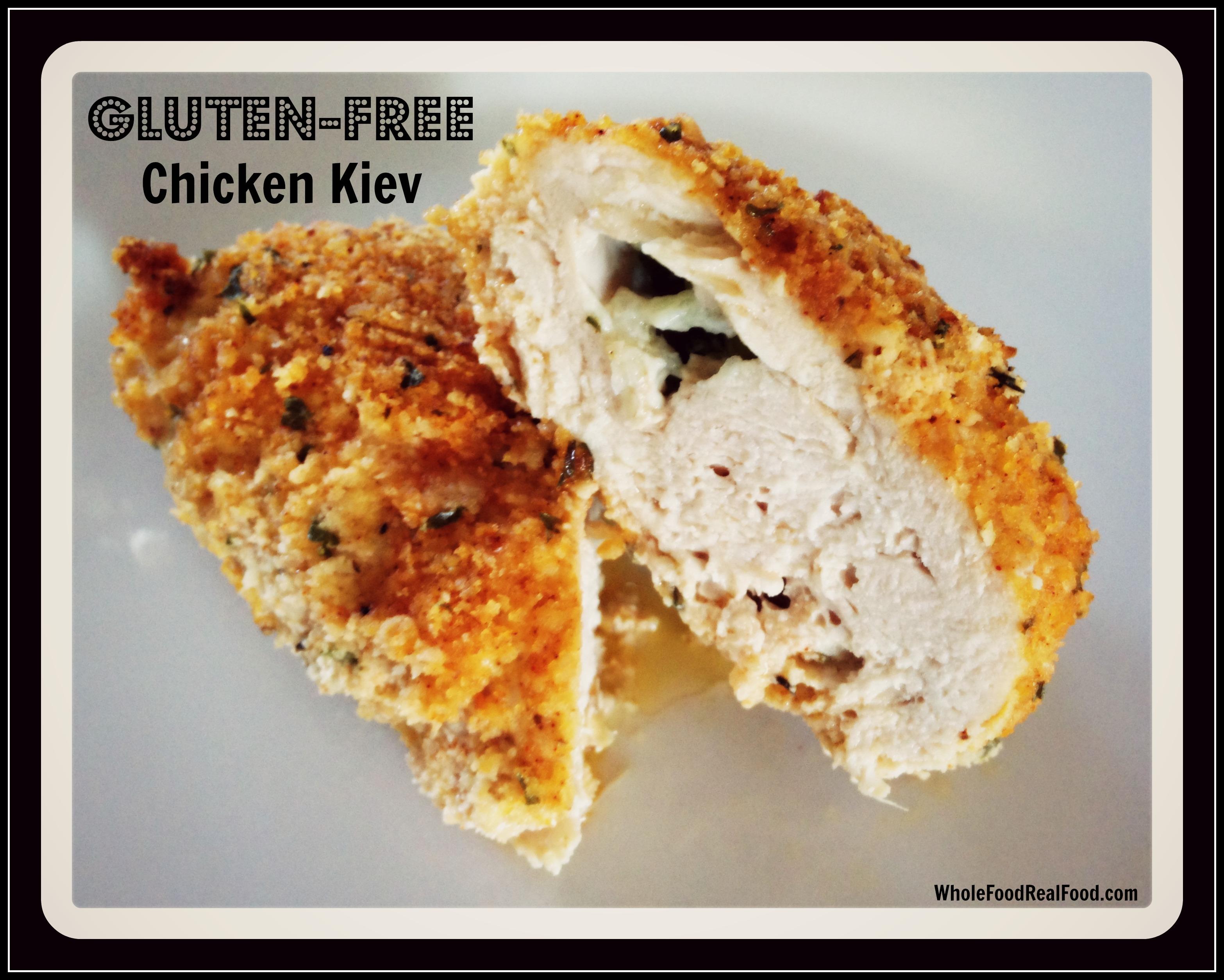 Gluten-Free Chicken Kiev