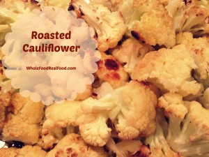 Roasted Cauliflower Final