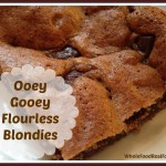 ooey gooey blondies