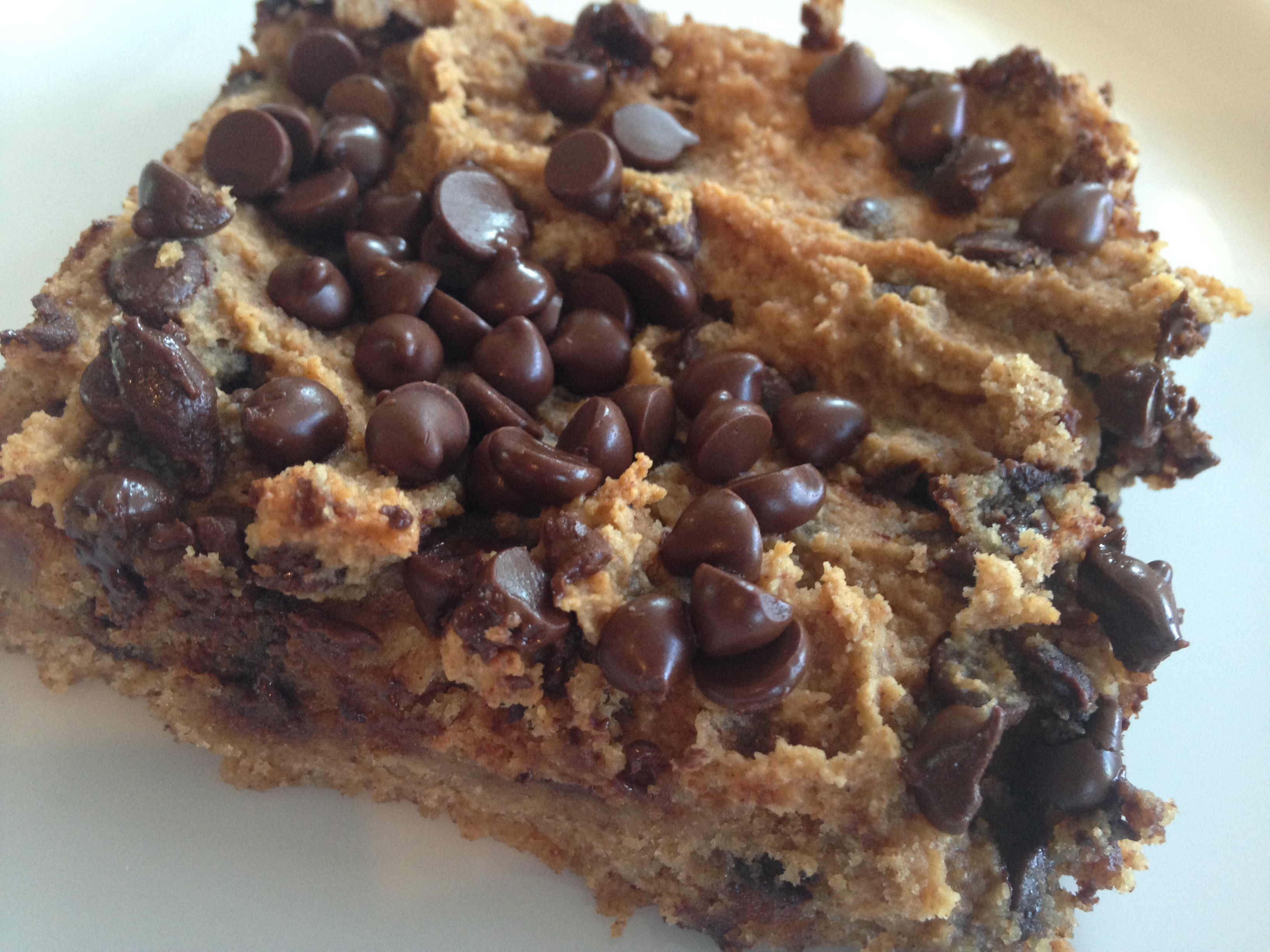 Banana Chocolate Chip Cookie Bars